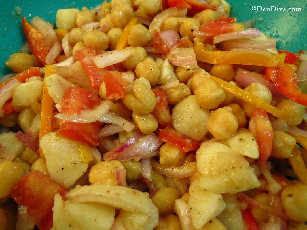 Chickpeas/Chana Salad