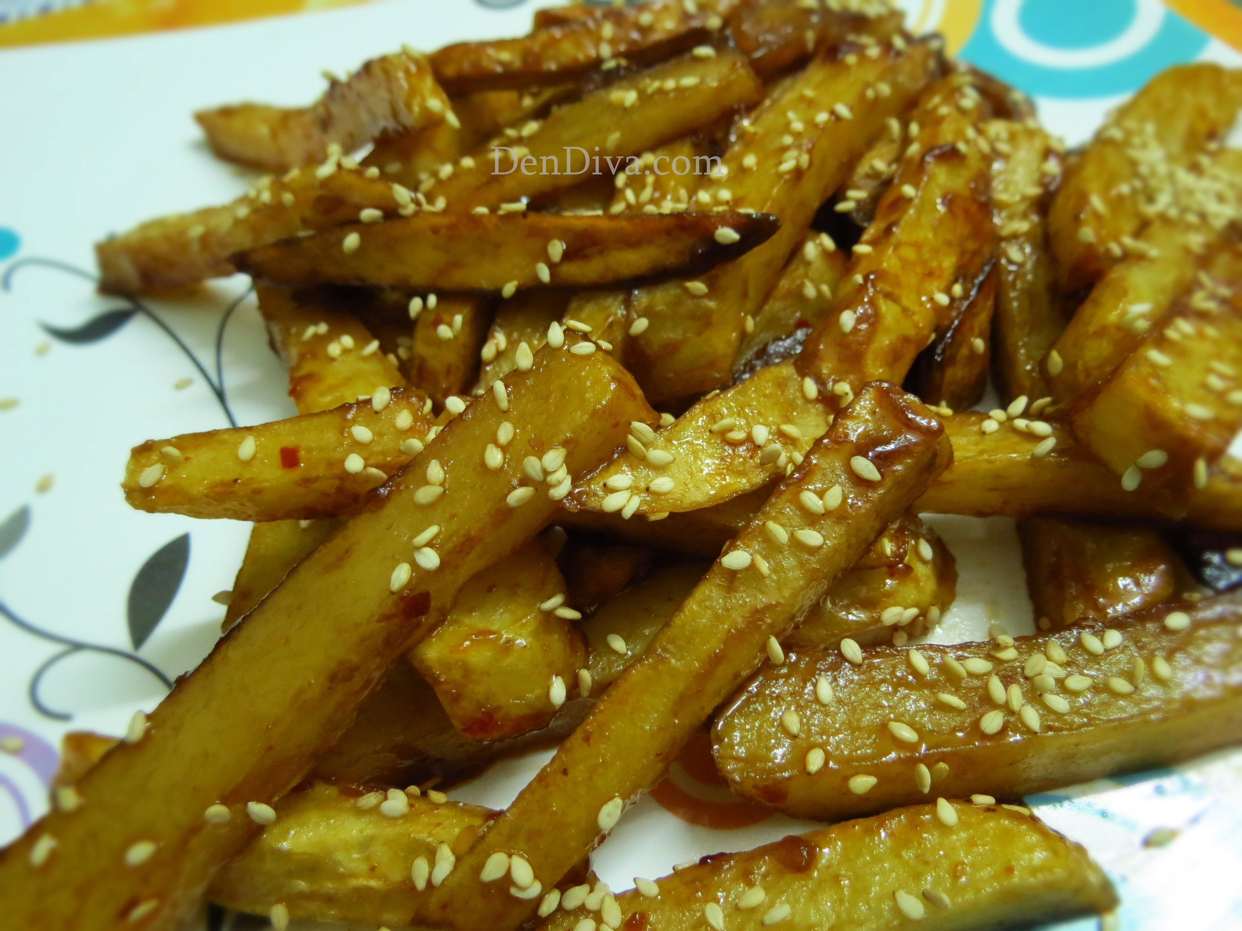 Honey Chilli Potato Recipe