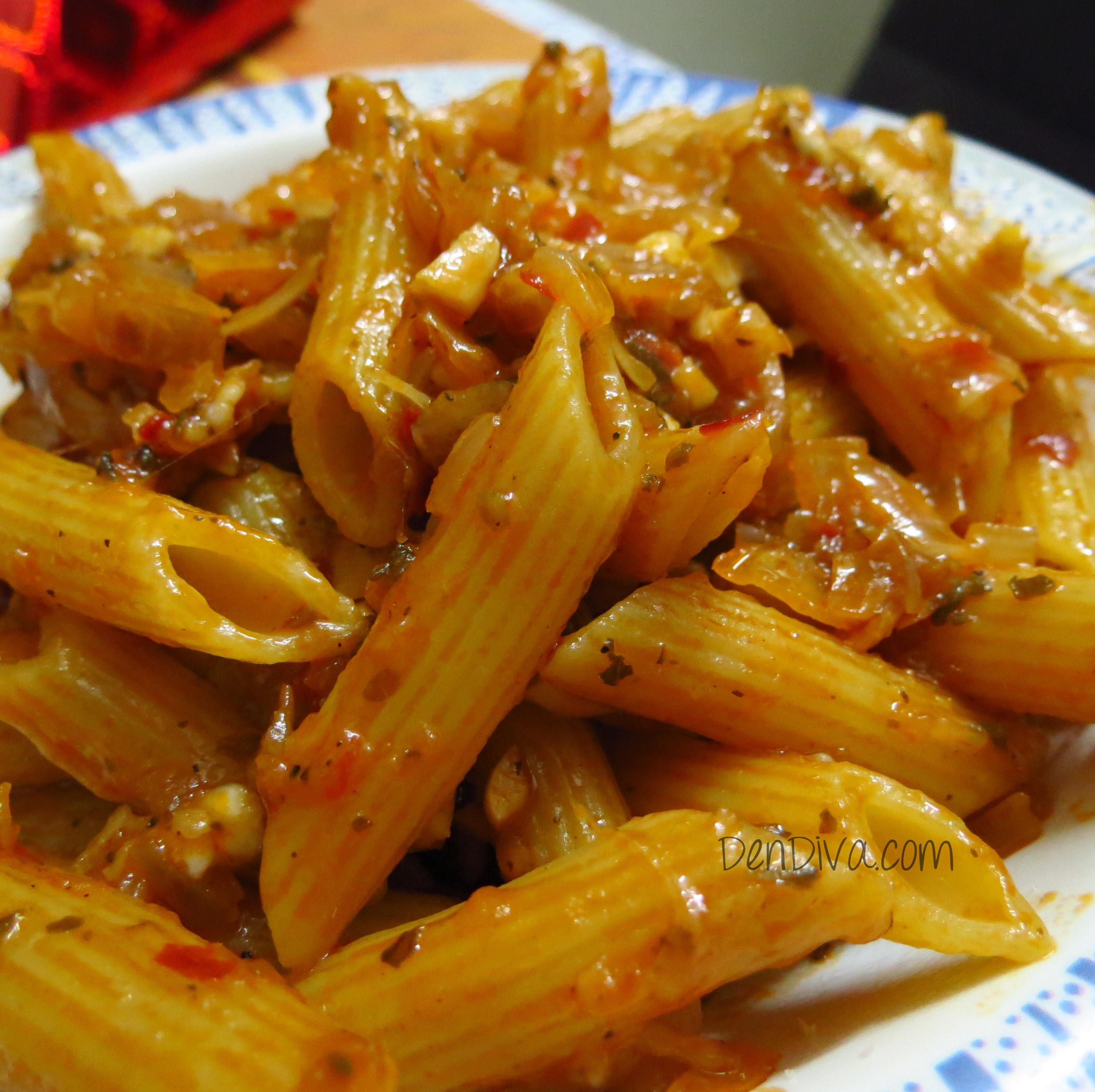 Pasta with tomato sauce Recipe