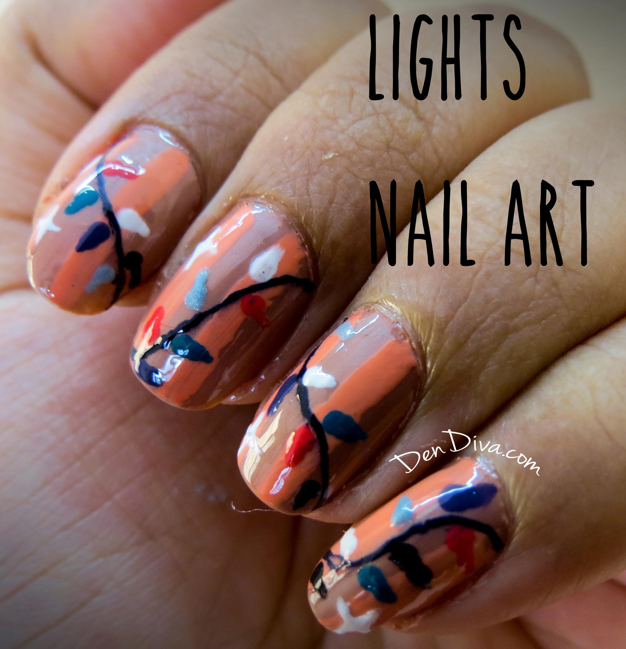 October Nail Art Tutorials