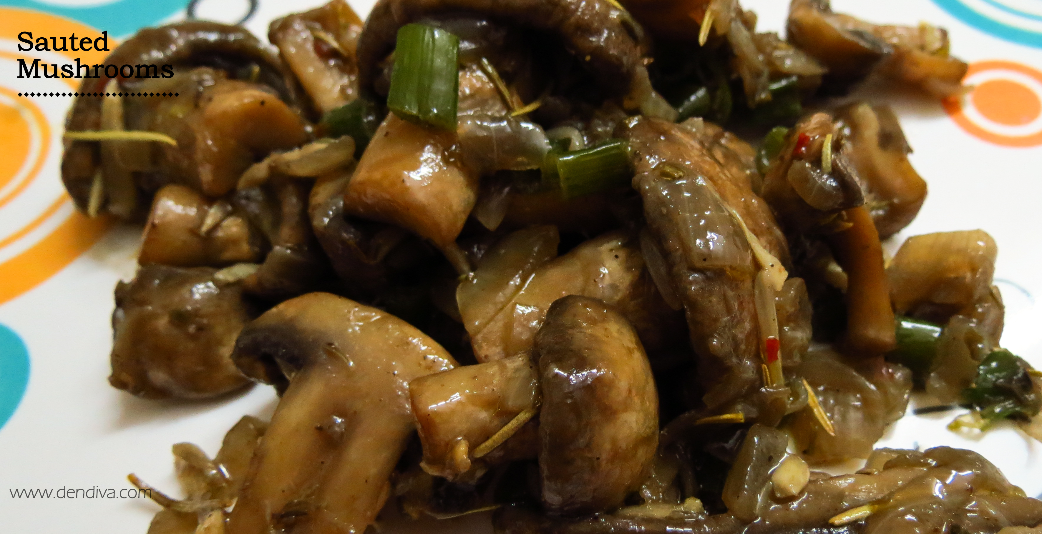 Sauted Mushrooms Recipe