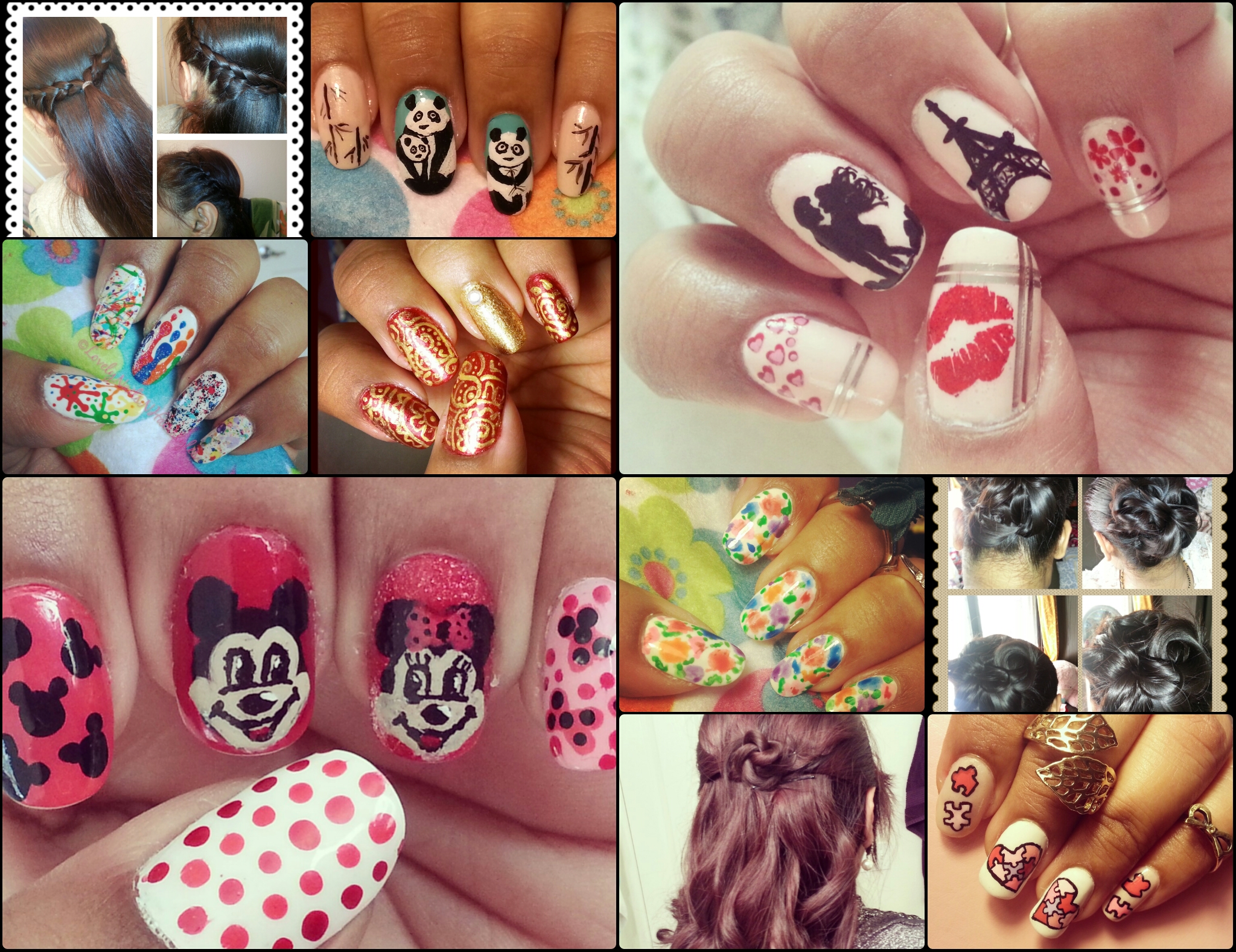Creations of LovelyNailsNPrettyHairstyles