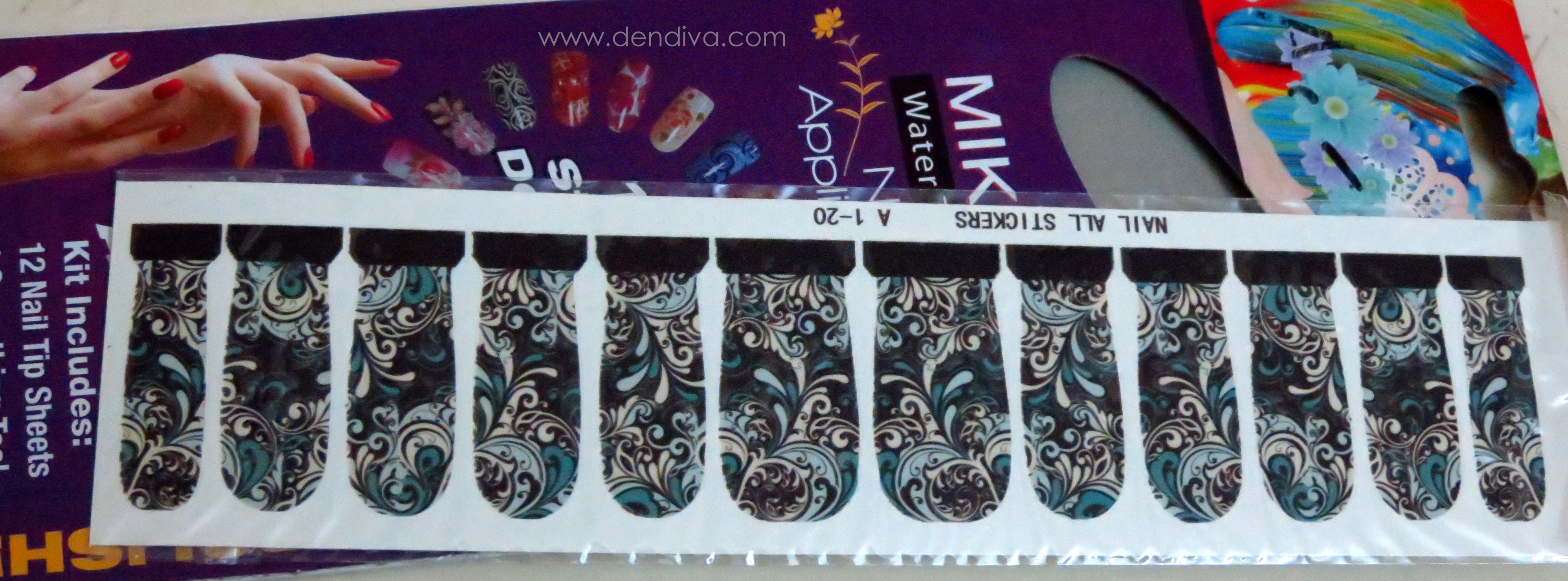 BornPrettyStore Nail Decals Review (dendiva.com)