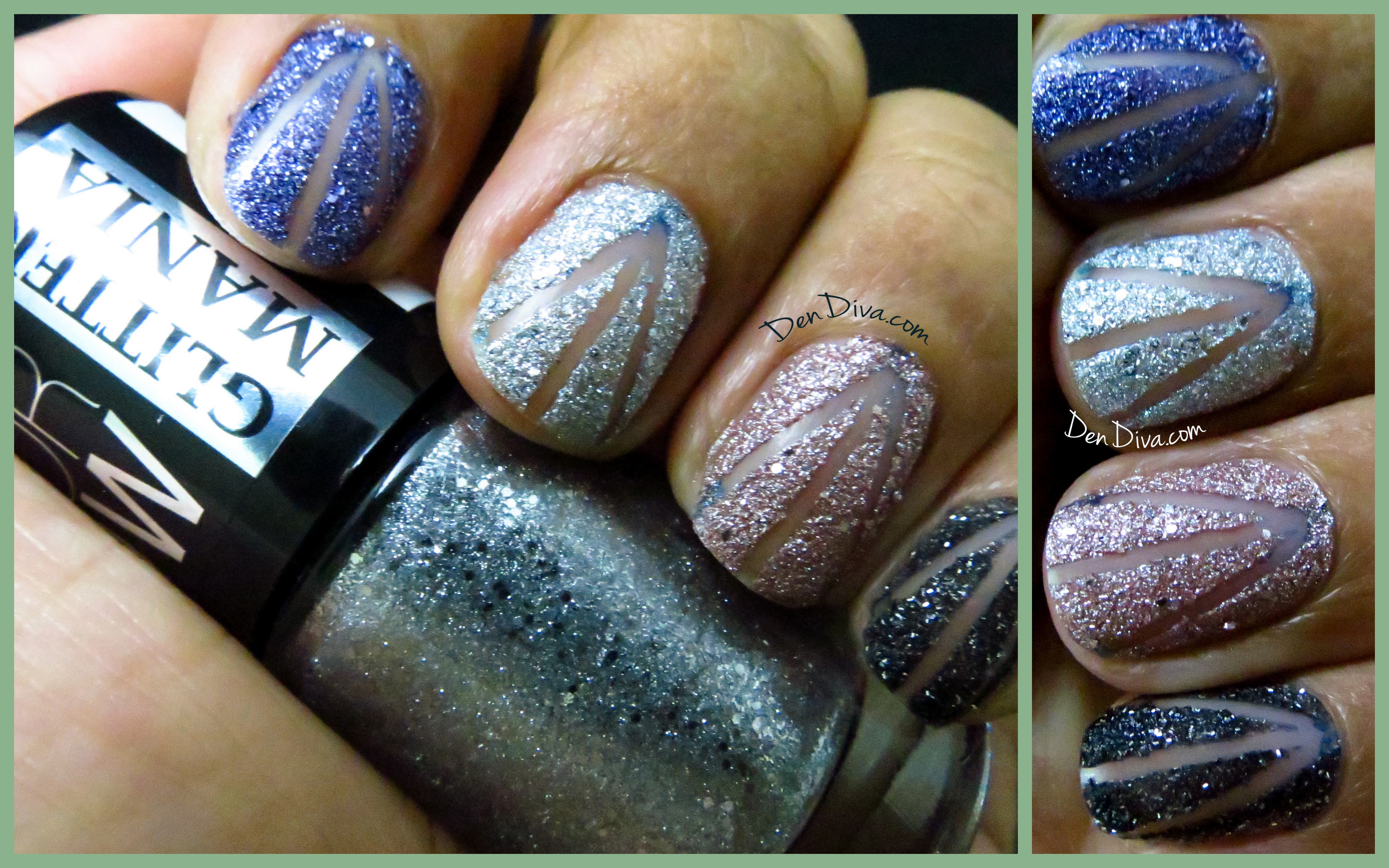 Maybelline Glitter Mania Review & Swatches