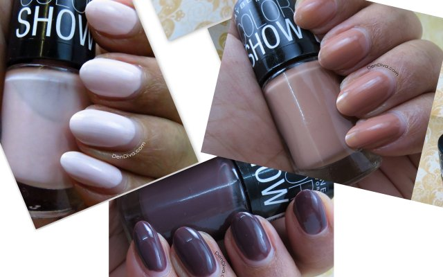 Best 3 Neutral Shade Polishes From Maybelline Color Show